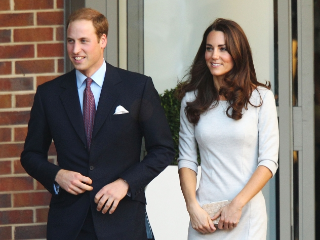 херцогиня Катрин и принц Уилям
