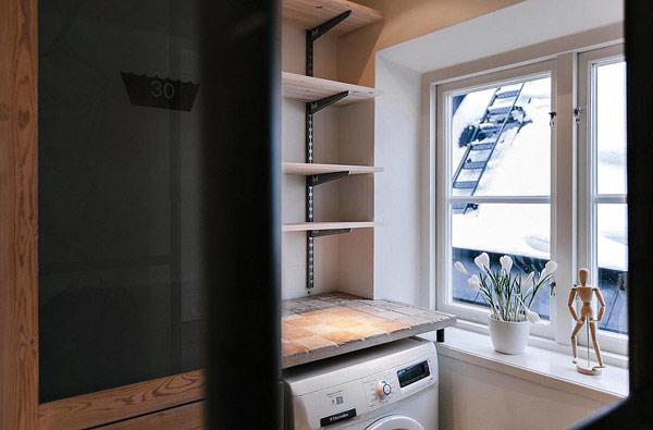 Двуетажен апартамент в Стокхолм - пералня