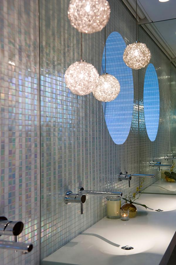 Малък апартамент в Сидни детайли в банята
