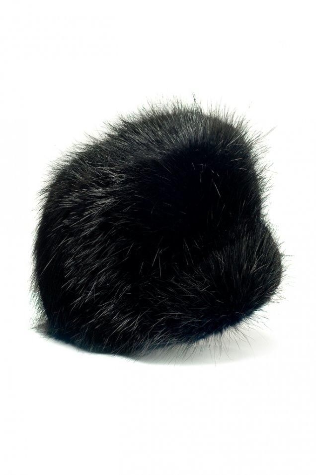 Пухена кожена шапка Emilio Pucci зима 2012