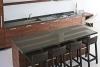 Къща в Малибу - кухня с високи столове