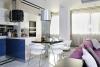 Модерен апартамент в Одеса - маса за хранене