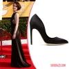 Мишел Докъри носеше Rupert Sanderson изискани обувки.