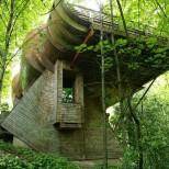 Къща сред дърветата