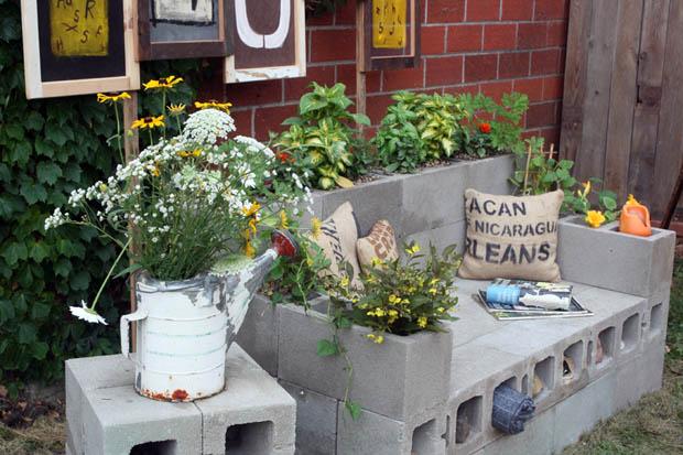 Градински мебели от бетон