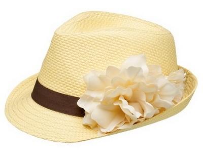 Готина шапка с цвете лято 2015