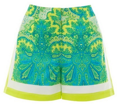 Шарени къси панталонки лято 2015