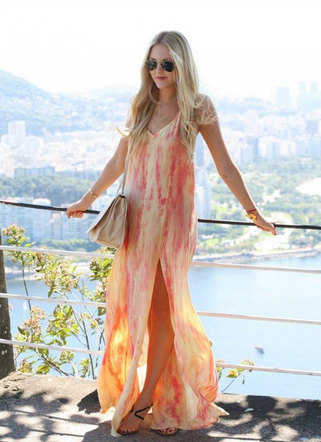 Лятна дълга рокля 2015