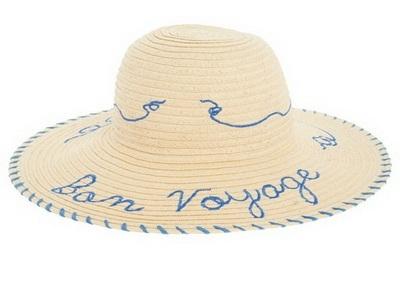 Ефектна сламена шапка лято 2015