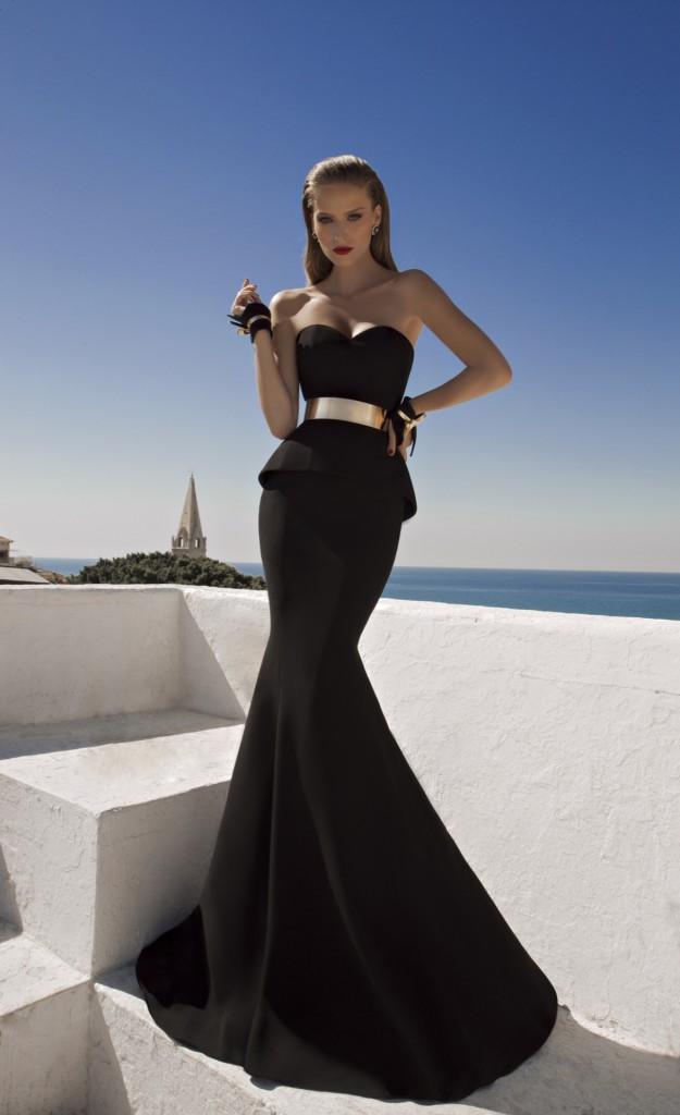 Уникална официална дълга рокля лято 2015