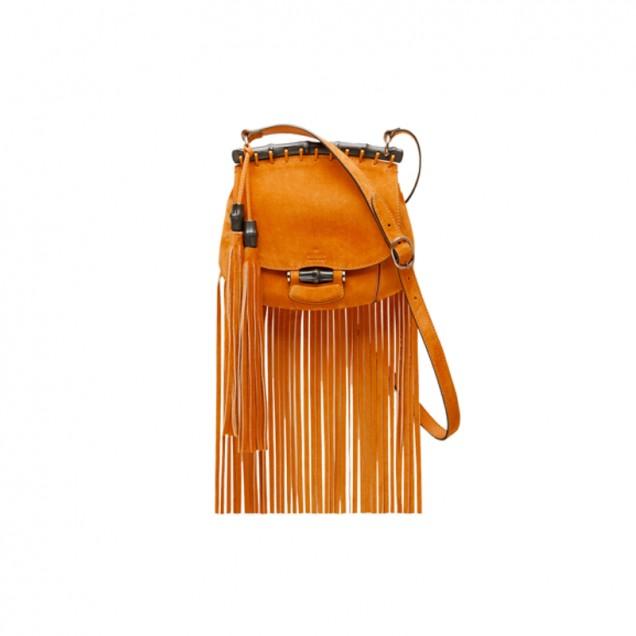 Класическа чанта с ресни от Гучи за есен 2015