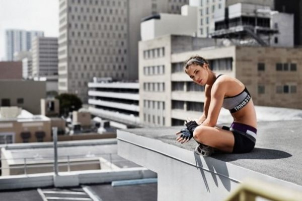 Спортен сутиен и къси панталонки за есен 2015