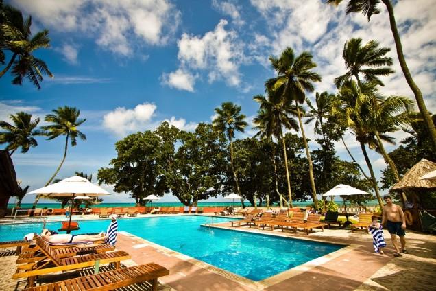 Хотел с басейн на Сейшелските острови