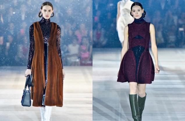 Модна колекция на Диор за есен 2015