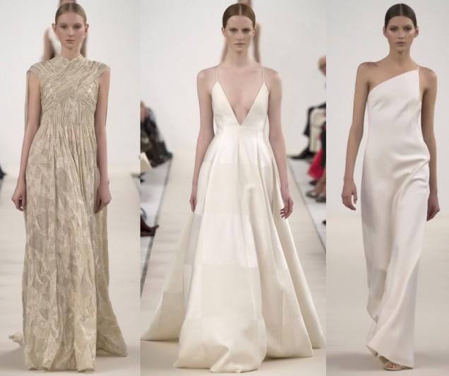 Бяла колекция висша мода от Валентино