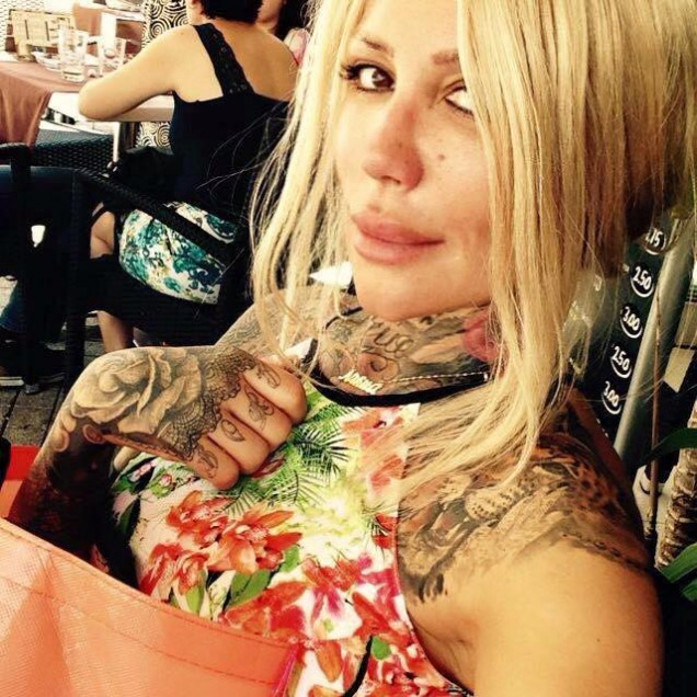 Татуировките на Никита Джонсън