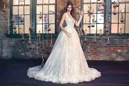 Сватбена рокля Снежанка 2016
