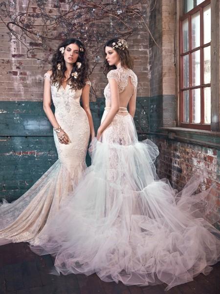 Секси сватбени рокли с гол гръб за 2016