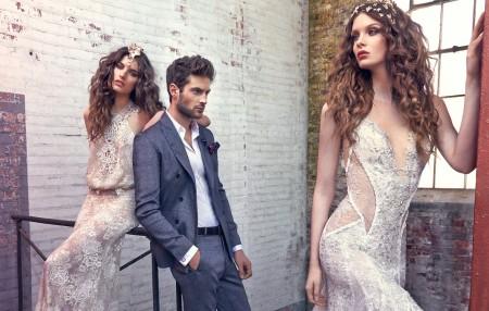 Нежни сватбени рокли за 2016 година
