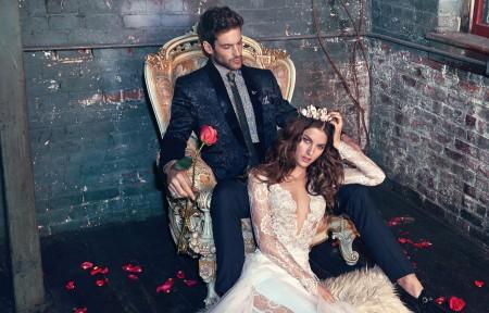 Дантелена сватбена рокля за 2016