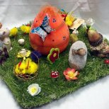 Великденска украса идеи