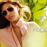 Секси актрисата със слънчеви очила от Vogue