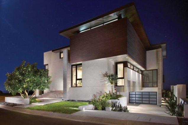 Резиденция Странд в Калифорния - изглед отвън