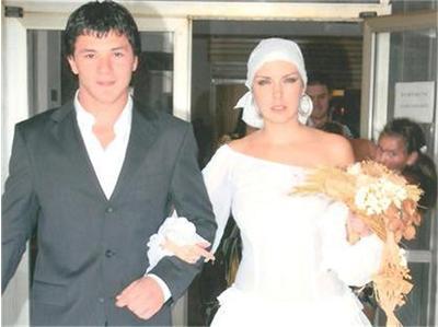 Жени Калканджиева и  Тачо сватба