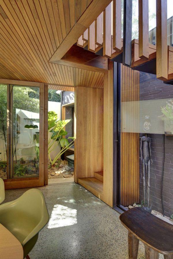 Къща в Австралия с жив интериор