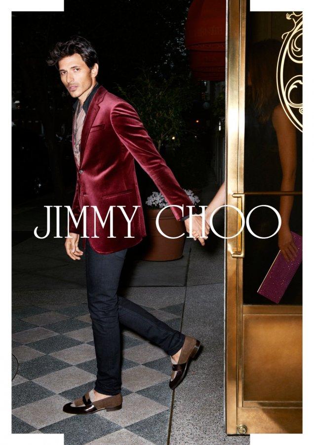 Jimmy Choo кампания пролет/лято 2013 Мъжко облекло