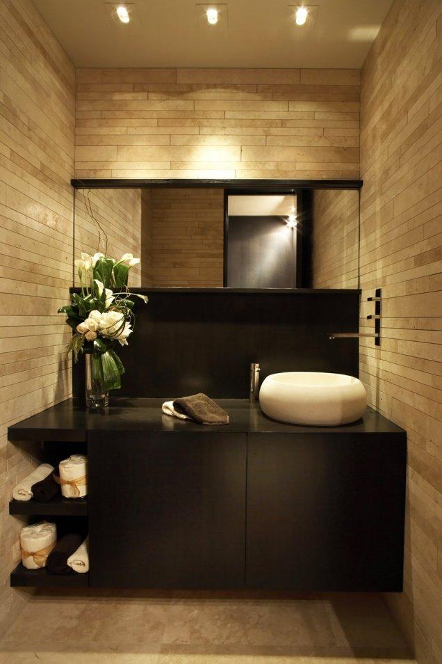 Луксозен апартамент в КАлифорния - баня