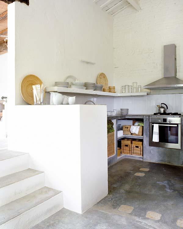 Средиземноморска вила - кухня