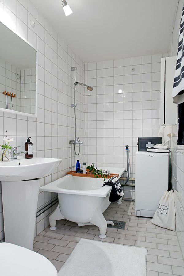 Апартамент 42 квадрата  - баня с вана