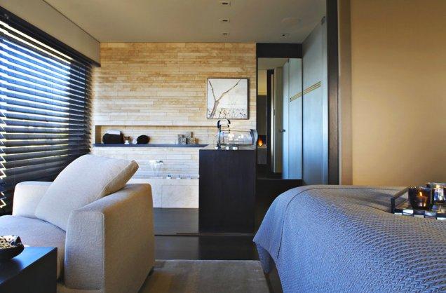 Луксозен апартамент в КАлифорния - интериор