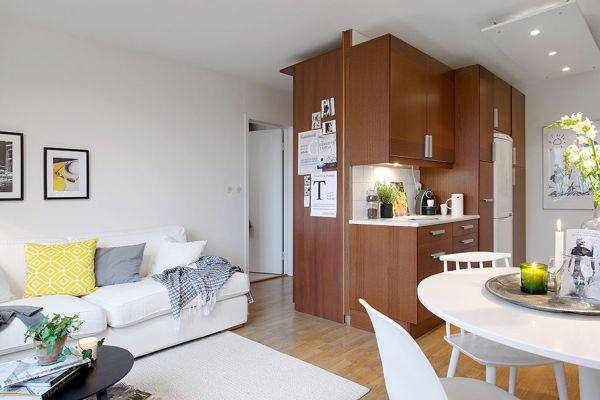 Апартамент 42 квадрата  - удобно канапе
