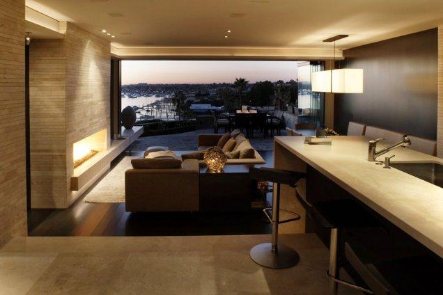 Луксозен апартамент в КАлифорния - отворен план