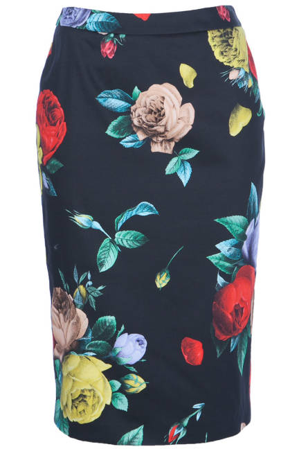 FLORAL Love Moschino Пола с флорални мотиви