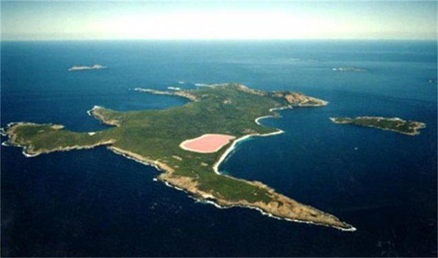 розовото езеро Хилиър