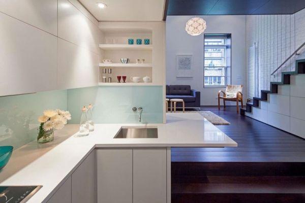 Малка мансарда в Манхатън - кухня