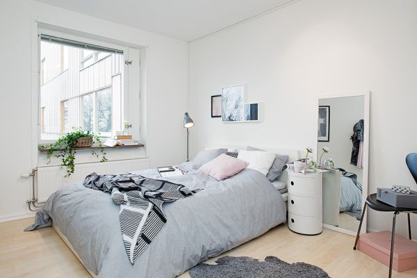 Апартамент 42 квадрата  - спалня