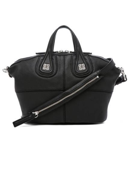 Givenchy Micro Nightingale Ежедневна черна чанта