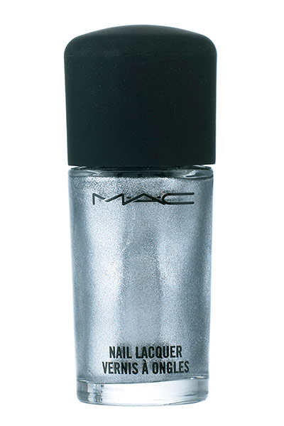 Glitter varnish Сребърен лак за нокти с блясък
