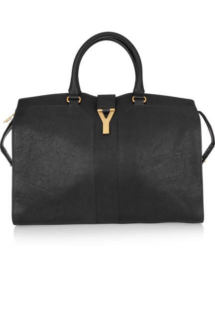 Saint Laurent Cabas Chyc Large Leather Shopper Голяма чанта 2013