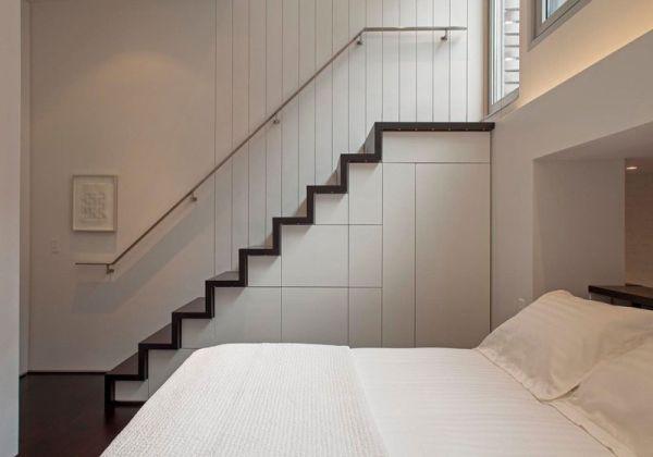 Малка мансарда в Манхатън - спалня