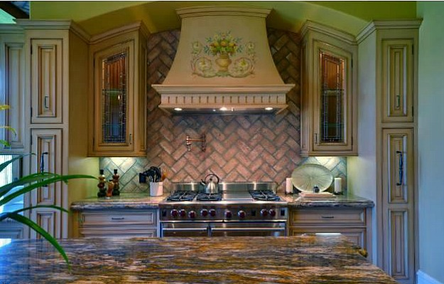 Домът на Ким Кардашиян и Кайни Уест - кухня