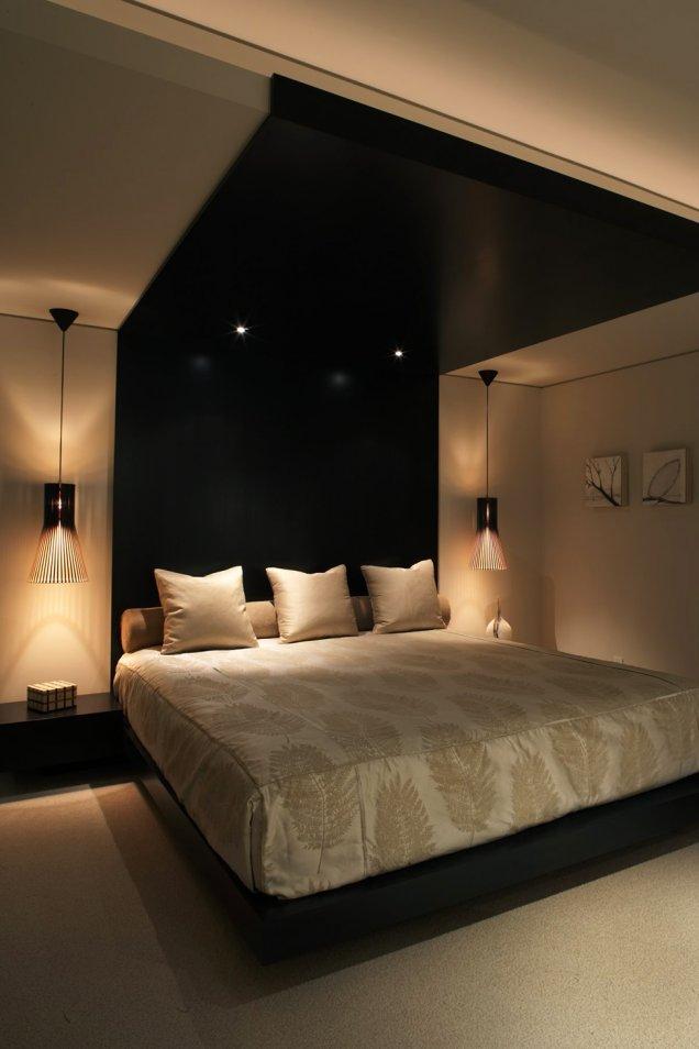 Луксозен апартамент в КАлифорния - интериор на спалня
