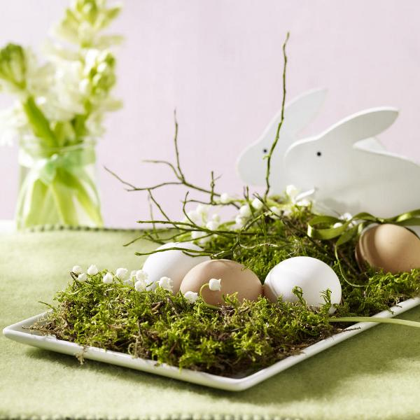 Идея за аранжиране на великденски яйца