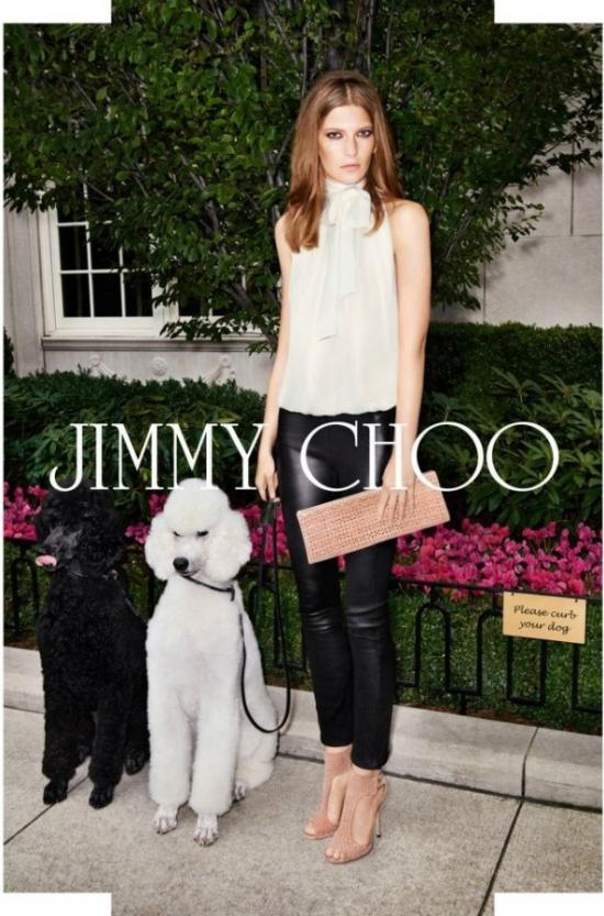 Jimmy Choo кампания пролет/лято 2013