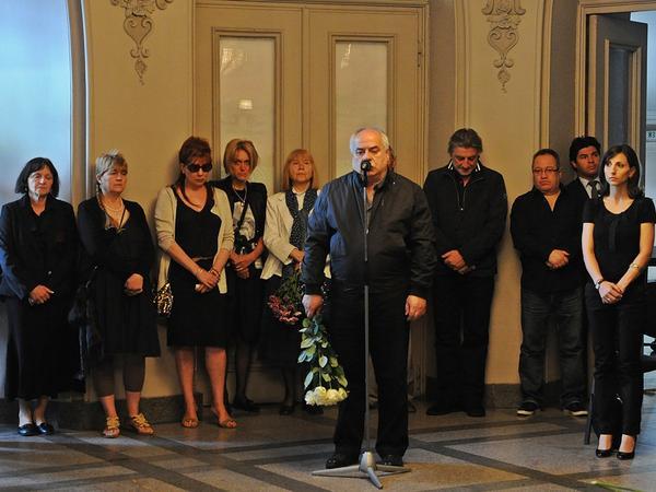 Погребение Чочо Попйорданов