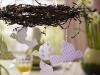 Великденски декор - гнездо над трапезата
